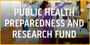 Donate to the Public health Preparedness and Research Fund